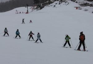5日スキーレッスン